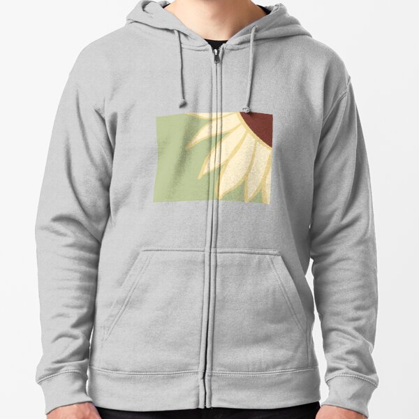 Sunflower shining  Zipped Hoodie
