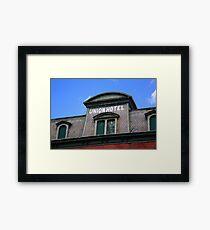 Flemington, NJ - Union Hotel Framed Print