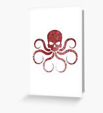 Hail Hydra Greeting Card