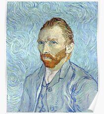 Vincent van Gogh - Self Portrait Poster