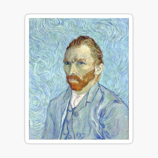 Vincent van Gogh - Self Portrait Sticker