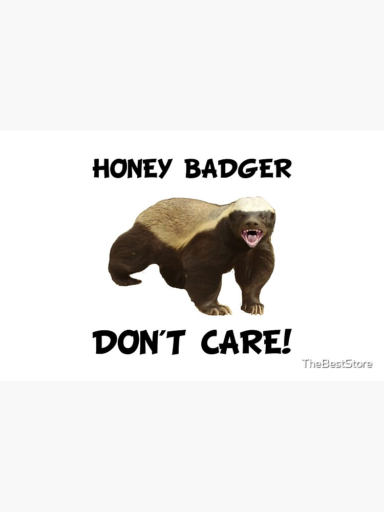 Honey Badger Don't Care by TheBestStore