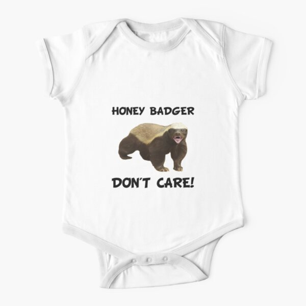 Suit Wild Life KEEP CALM AND SAVE A BADGER Badgers Fun Themed Baby Grow
