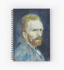 Vincent van Gogh - Self Portrait Spiral Notebook