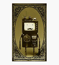 Steampunk B-MO Adventure time.  Photographic Print