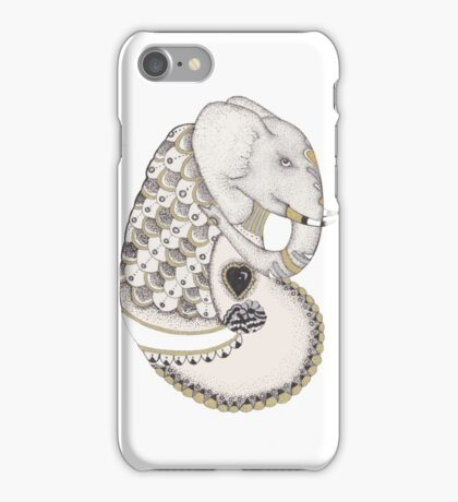 Abstract Elephant iPhone Case/Skin