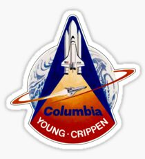 Space Shuttle Columbia (STS-1) Sticker