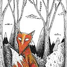 The Fox in the Forest by Josie Rouse