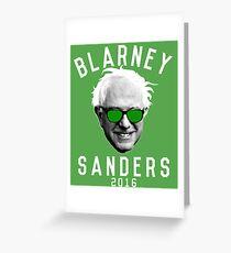 Blarney Sanders Greeting Card
