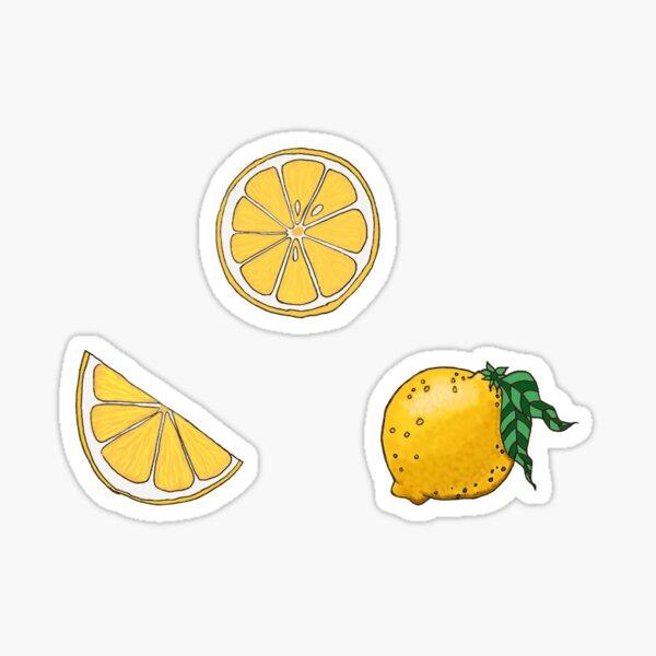 Lemon Collection Sticker