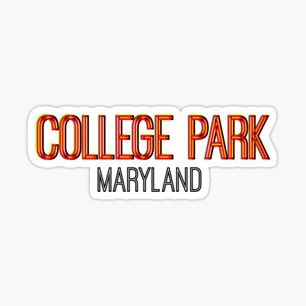 College Park Maryland Snapchat Sticker