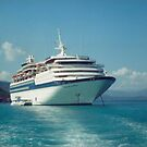Song of America Cruise Ship, Haiti by lenspiro