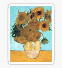 Vincent van Gogh - Still Life - Vase with Twelve Sunflowers Sticker