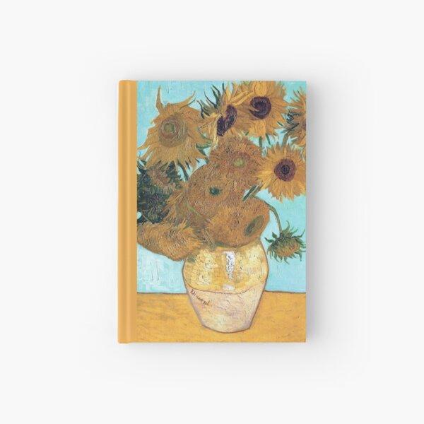 Vincent van Gogh - Still Life - Vase with Twelve Sunflowers Hardcover Journal