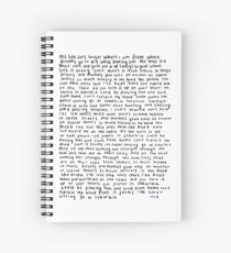 TROYE SIVAN SUBURUBIA  Spiral Notebook