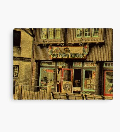 """""""Gatlinburg, Tennessee Series, #5, 'The Old Timey Photo Shop, 2nd Picture'""""... prints and products Canvas Print"""