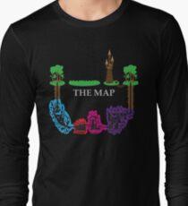 Wizards & Warriors Map T-Shirt