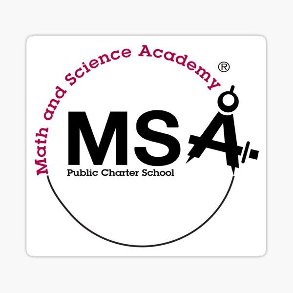 MSA PTO Woodbury Charter School  Sticker