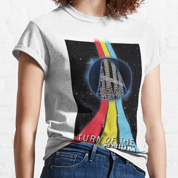 Turn of The Millennium Roller Coaster Classic T-Shirt