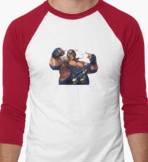 Raiden Big Bear SNK Men's Baseball ¾ T-Shirt