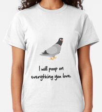 Poop On Love Classic T-Shirt