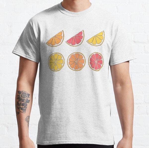 Citrus Wedges und Scheiben Classic T-Shirt