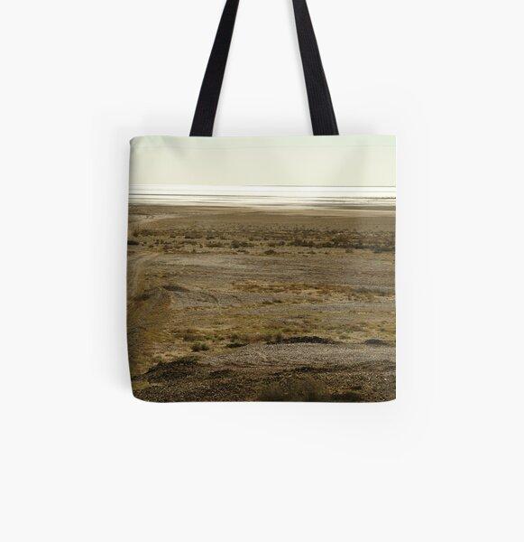 Joe Mortelliti Gallery - Lake Eyre South, South Australia, All Over Print Tote Bag