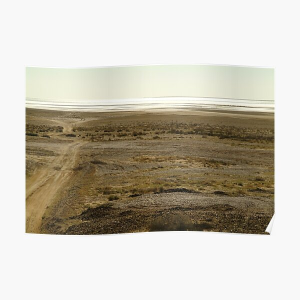 Joe Mortelliti Gallery - Lake Eyre South, South Australia, Poster