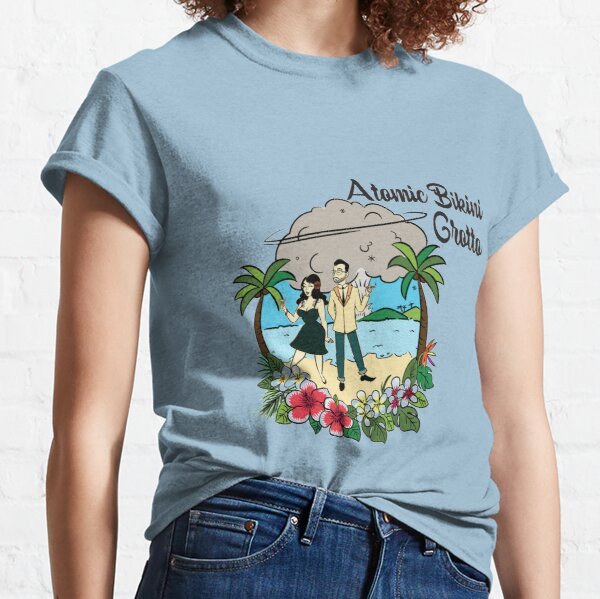 Atomic Bikini Grotto: Bossanova Life Home Tiki Bar Classic T-Shirt