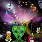 Sex, Drugs & Rock & Roll...In Space by WildestArt