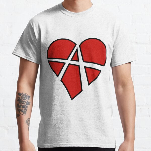 Question Authority T shirt Shirt Tee Anarchy Forever Protest Anarchy Sign Icon Symbol