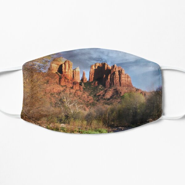 Red Rock Crossing Flat Mask