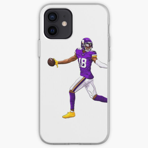 Justin Jefferson Touchdown Coque souple iPhone