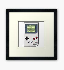 Game Boy Street Fighter II Framed Print