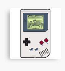 Game Boy Street Fighter II Canvas Print