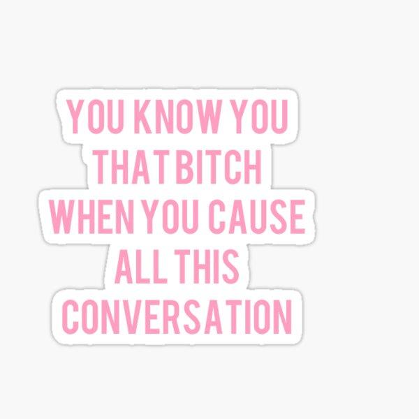 Conversation Sticker