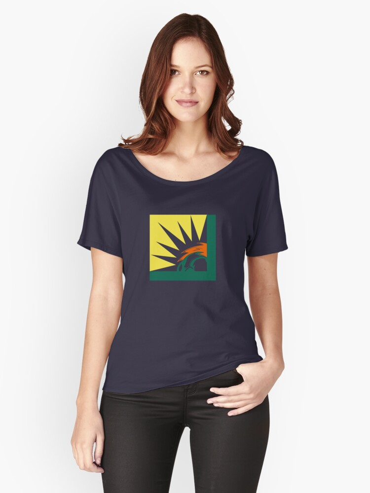 BLANKA INTERNATIONAL  Women's Relaxed Fit T-Shirt Front