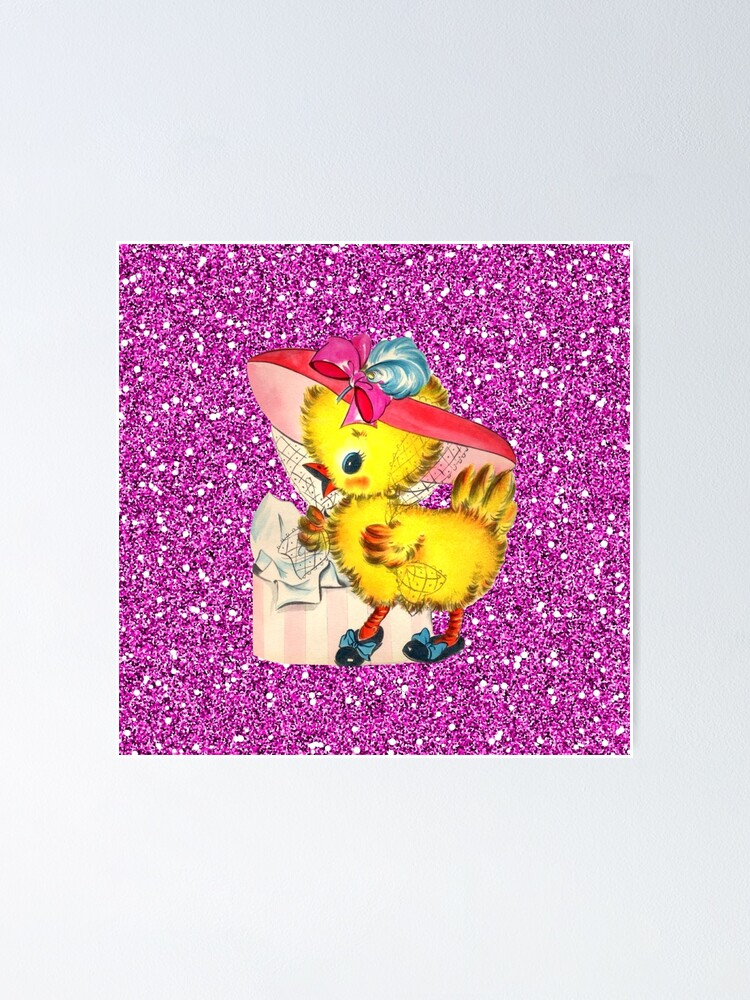 Easter Chicks Fancy Bonnets Quilt Block Multi Sizes FrEE ShiPPinG WoRld WiDE