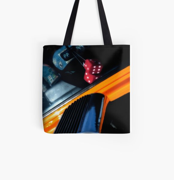 Midnight Dice All Over Print Tote Bag