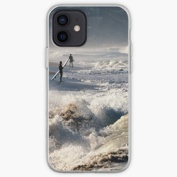 Waiting for the Wave by Mike-Hope iPhone Soft Case
