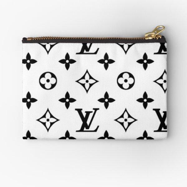 Black and white fashion Zipper Pouch