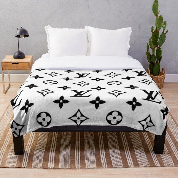 Black and white fashion Throw Blanket