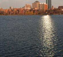 Boston waterfront Sticker