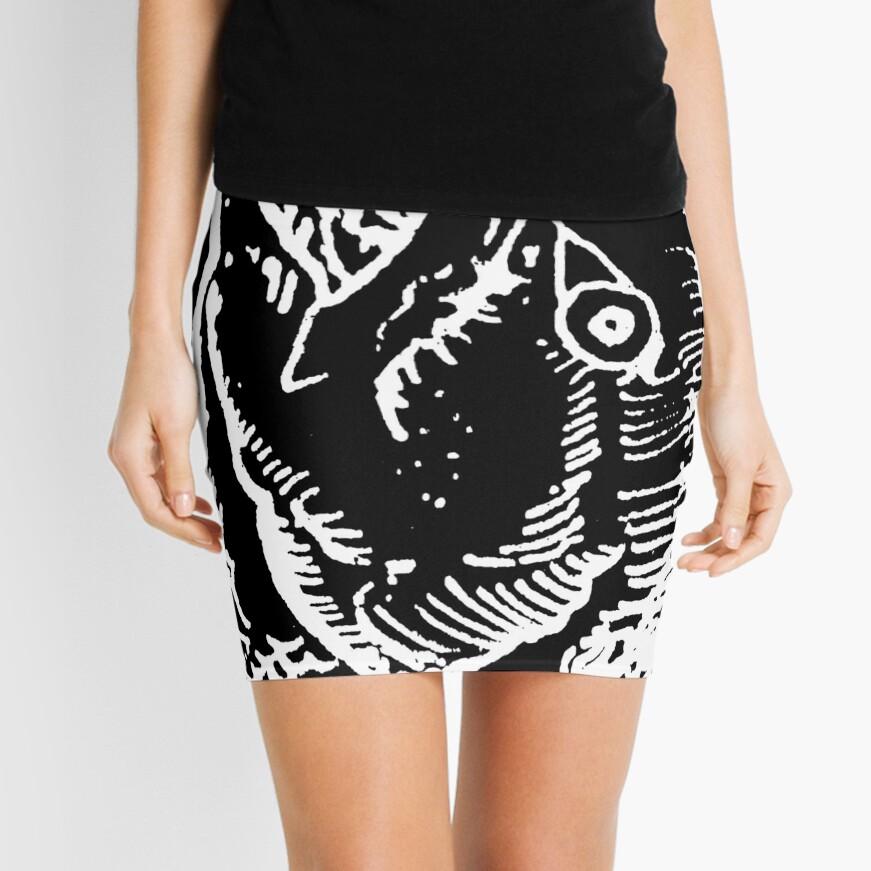 Fish Mini Skirt