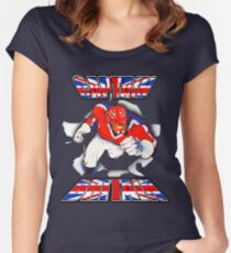 Captain Britain Women's Fitted Scoop T-Shirt