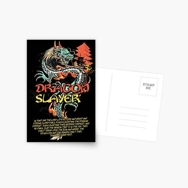 Dragon Slayer Postcard