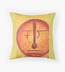 Math Man Throw Pillow