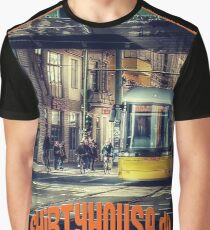 Tram Globetrotter Graphic T-Shirt