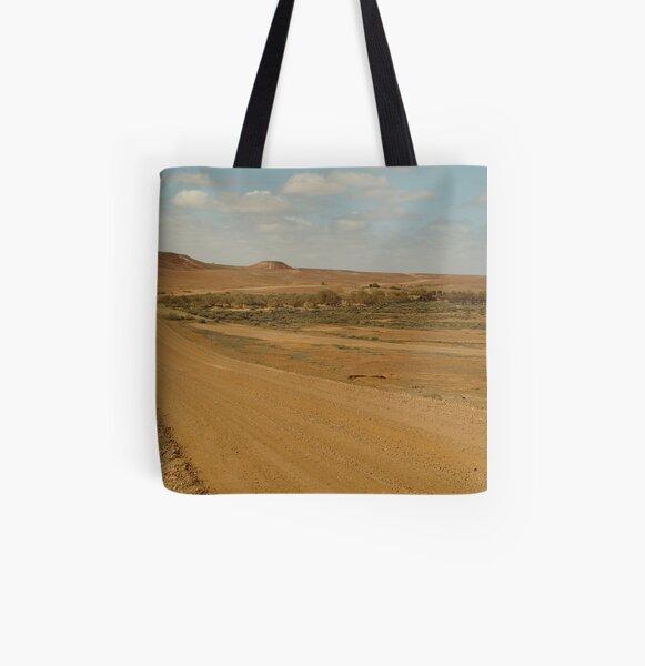 Joe Mortelliti Gallery - Oodnadatta Track, South Australia. All Over Print Tote Bag