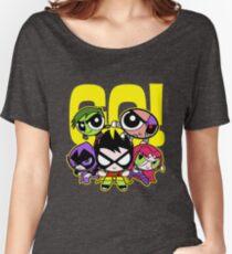 Go Power Puff Girl Women's Relaxed Fit T-Shirt